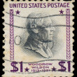 UNITED STATES OF AMERICA - CIRCA 1938: A stamp printed in USA sh — Stock Photo #42015977