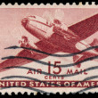 USA-CIRCA 1941: A 30 cent United States Airmail postage stamp sh — Stock Photo #42024313