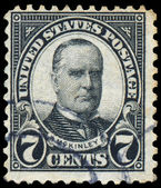 USA - CIRCA 1923: A stamp printed in USA shows President William — Stock Photo