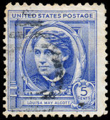 USA - CIRCA 1940: A stamp printed in United States of America sh — Stock Photo