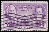Usa - ok. 1936: znaczek wydrukowany przez usa pokazuje obraz sam h — Zdjęcie stockowe