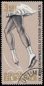 BURUNDI - CIRCA 1964: A stamp printed in Burundi, dedicated to t — ストック写真