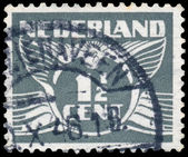 NETHERLANDS - CIRCA 1935: A stamp printed in Netherlands, shows  — Stockfoto