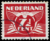 NETHERLANDS - CIRCA 1941: A stamp printed in Netherlands, shows  — Stockfoto