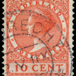 Постер, плакат: NETHERLANDS CIRCA 1924: A stamp printed in the Netherlands sho