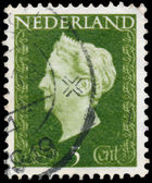 NETHERLANDS - CIRCA 1947: A stamp printed in Netherlands shows p — Stockfoto