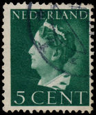 NETHERLANDS - CIRCA 1940: A stamp printed in the Netherlands sho — Stockfoto