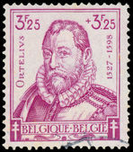 Stamp shows Ortelius  — Stock Photo