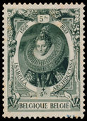 Stamp shows image of the Isabella Archiducissa — Foto Stock