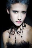 Fashion girl portrait. — Stock Photo