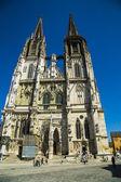 Regensburg cathedral. — Stock Photo