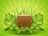 Background St. Patrick's Day — Stock Vector
