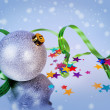 Happy New Year and Merry Christmas — Stockfoto