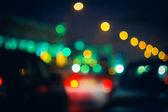 ボケ味のライトの写真 — ストック写真