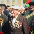 Unidentified veterans during the celebration of Victory Day. MIN - Stock Photo