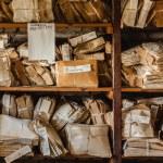 papírový odpad pro recyklaci — Stock fotografie