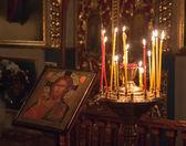 Interior Of Belarusian Orthodox Church. — Stock Photo