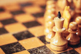 Chess leader — Stock Photo
