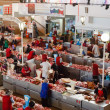 Foto de Stock  : Food market in Gomel. This is example of existing food market