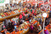 Food market in Gomel. This is an example of existing food market — Stock Photo