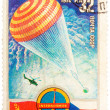 Stamp printed in The Soviet Union devoted to the international p — Stock Photo #42011039