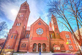 Sts. Simeon and Elena roman catholic church — Stock Photo