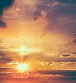 Sun, sunset, sunrise — Stock Photo