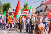 Celebration of Victory Day. GOMEL, BELARUS - MAY 9: Celebration  — Stockfoto