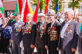 Unidentified veterans during the celebration of Victory Day. GOM — Stock Photo