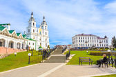 The cathedral of Holy Spirit in Minsk, Belarus — Stock Photo