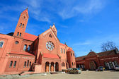Sts. Simeon and Elena roman catholic church — Stock fotografie