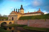Castle in Nesvizh, Belarus — Stock Photo