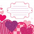 Royalty-Free Stock : Valentine card