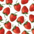 Royalty-Free Stock Vector Image: Strawberry seamless pattern