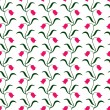 Flower seamless pattern - Stock Vector
