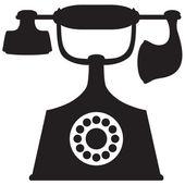 Altes telefon — Stockvektor