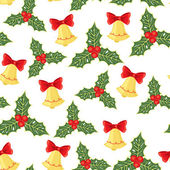 Christmas seamless pattern — Wektor stockowy