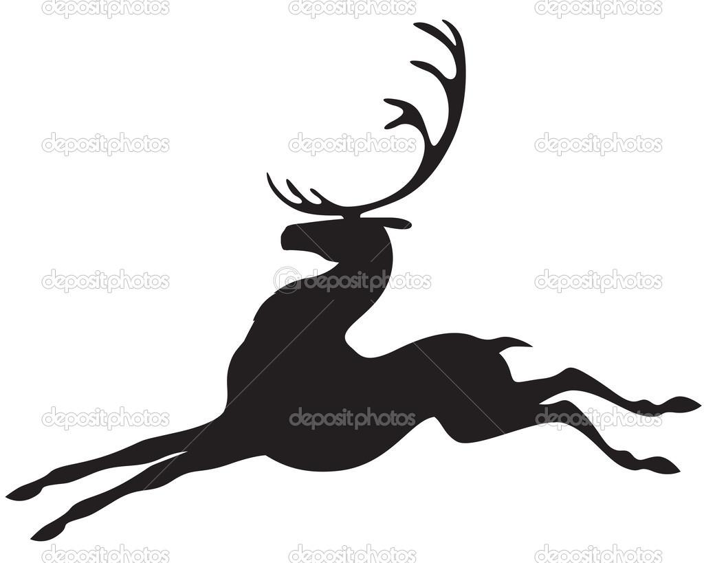 картинка оленей