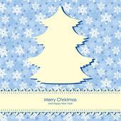 Christmas congratulations background — Stock Vector