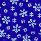 Snow seamless pattern — Stock Vector