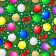 Christmas seamless pattern — Vector de stock #37360929