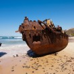 navio naufragado — Foto Stock #13429833