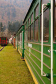 On the tracks — Stock Photo