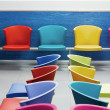 School chairs - Stock Photo