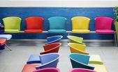 School chairs — Stock Photo
