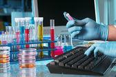 Scientific discovery — Stock Photo