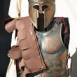 Spartan soldier uniform — Stock Photo