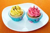 Cupcakes at home — Stock Photo