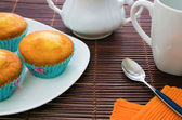 Muffins party — Stock Photo