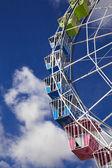 Частину чортове колесо проти неба — Foto Stock